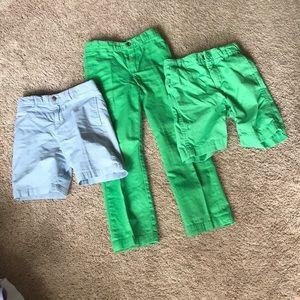 Ralph Lauren shorts & Pants & Gap shorts